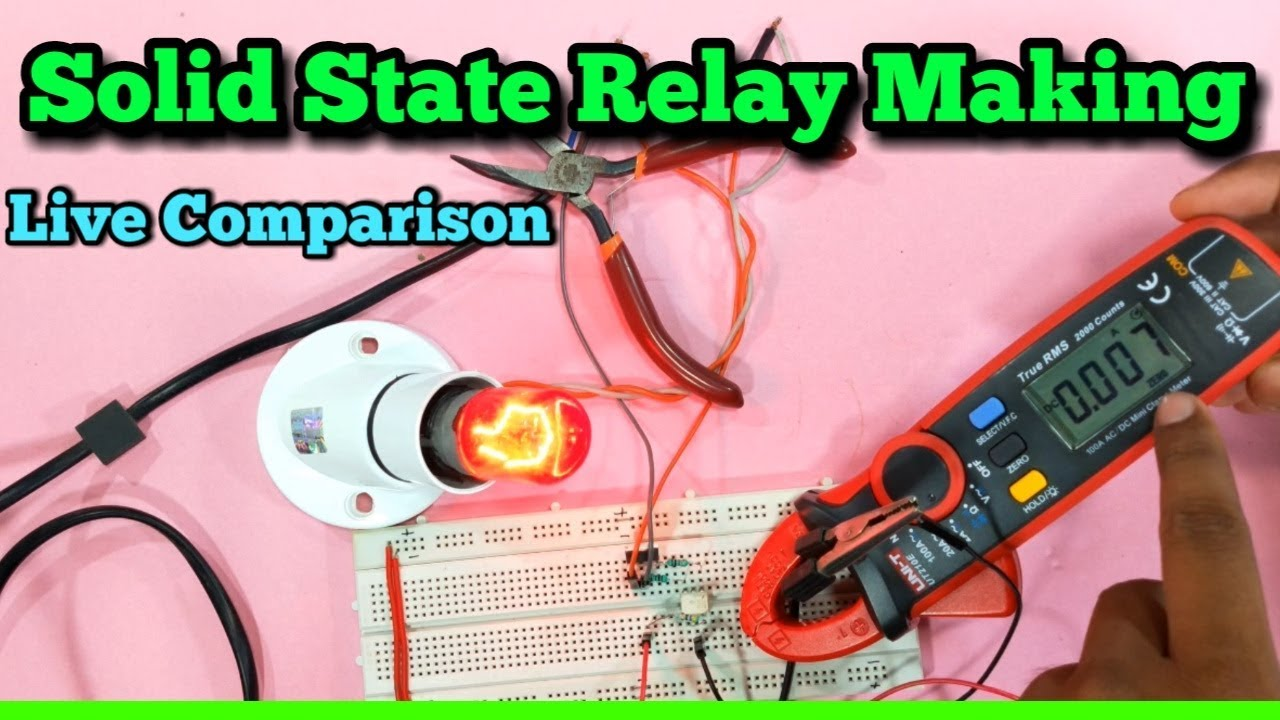 Solid State Relay Low Power