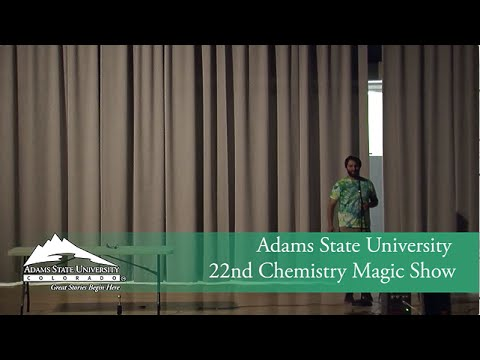 Chemistry Magic Show 2015