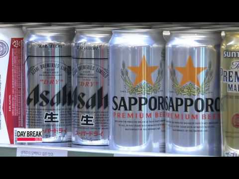 Imported beers tighten grip on Korean market   국내 맥주 산업
