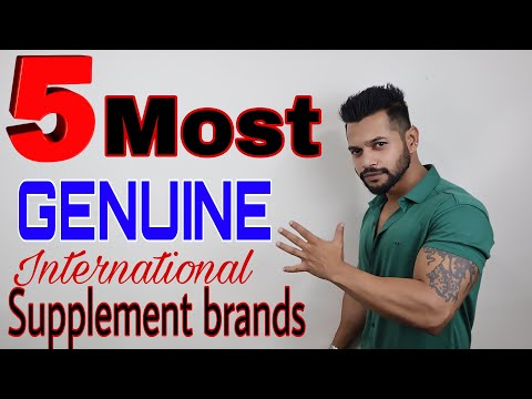 5 MOST GENUINE INTERNATIONAL SUPPLEMENTS BRANDS | 5 BEST PROTEIN BRANDS WITH LEAST DUPLICACY | HINDI