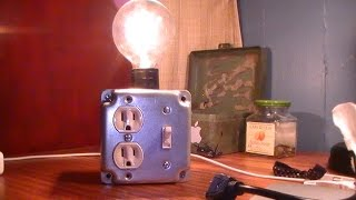 Build an Industrial Looking Lamp with Chud327