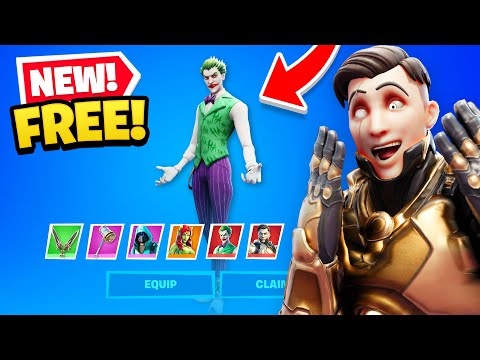 NEW *FREE* SKINS UNLOCKED in Fortnite! (How To Claim)