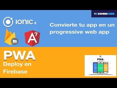 Cómo convertir una app de IONIC en una PWA?