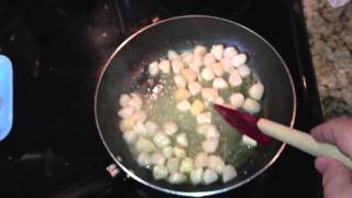How To Sauté Bay Scallops