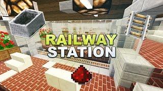 Minecraft - Railway Station // Automatischer Bahnhof - Tutorial 1.8