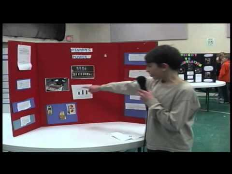 Gillespie Middle School 8th Grade Science Fair 2014