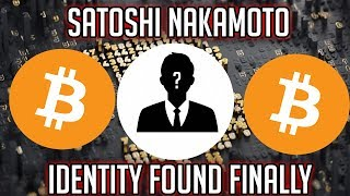 THE IDENTITY OF SATOSHI NAKAMOTO HAS BEEN FOUND IN 2018 3301