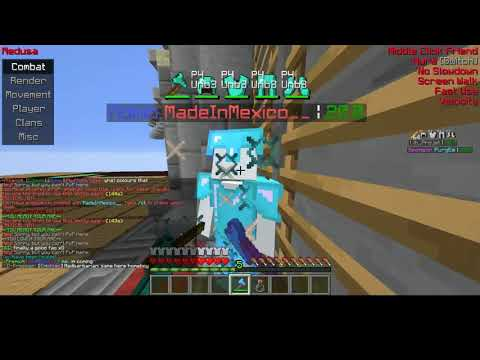 Minecraft #4   PvP On A Server Where Hacks Are Allowed  