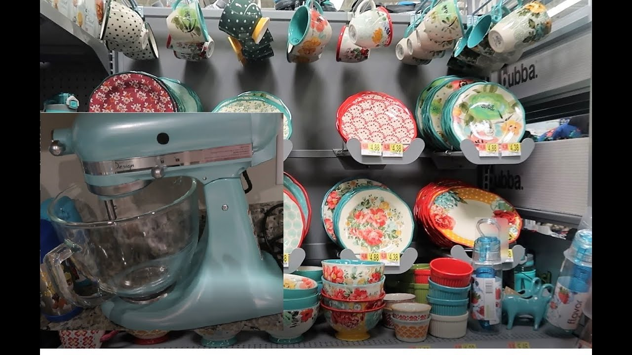 Pioneer Woman Shopping And A New Kitchenaid Stand Mixer