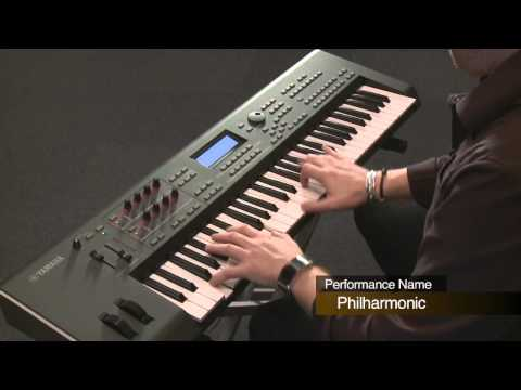 Yamaha MOX6/MOX8-Performance Mode