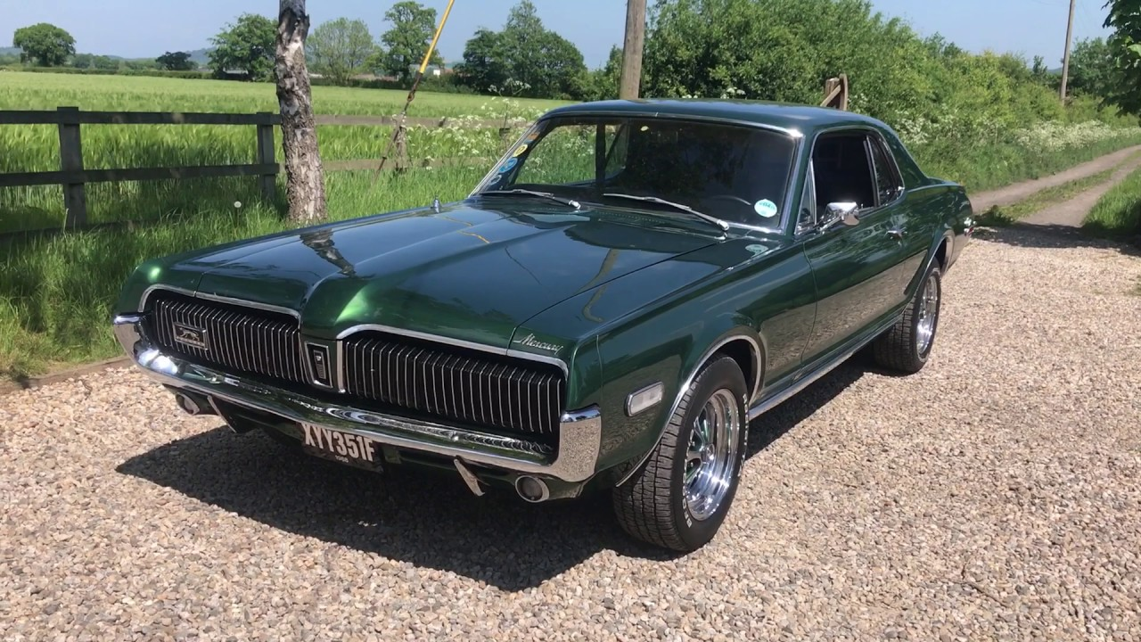 1968 ford mercury cougar great v8 sound