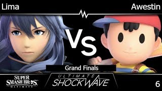 USW 6 - Lima (Lucina, Peach) vs TLOC | Awestin (Ness) Grand Finals - SSBU