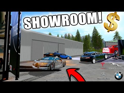 NEW SHOWROOM | CAR DEALERSHIP | LUXURY CARS | FARMING SIMULATOR 2017