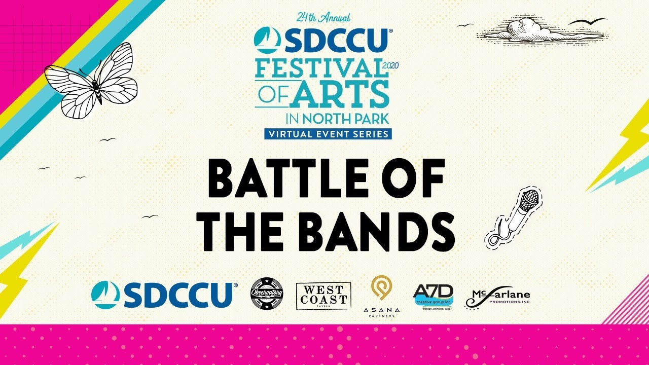 SDCCU Festival of Arts in North Park - Battle of the Bands
