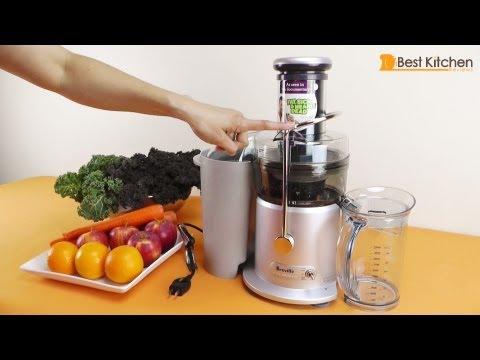 Breville JE98XL Juice Fountain Plus 850-Watt Juice Extractor Review