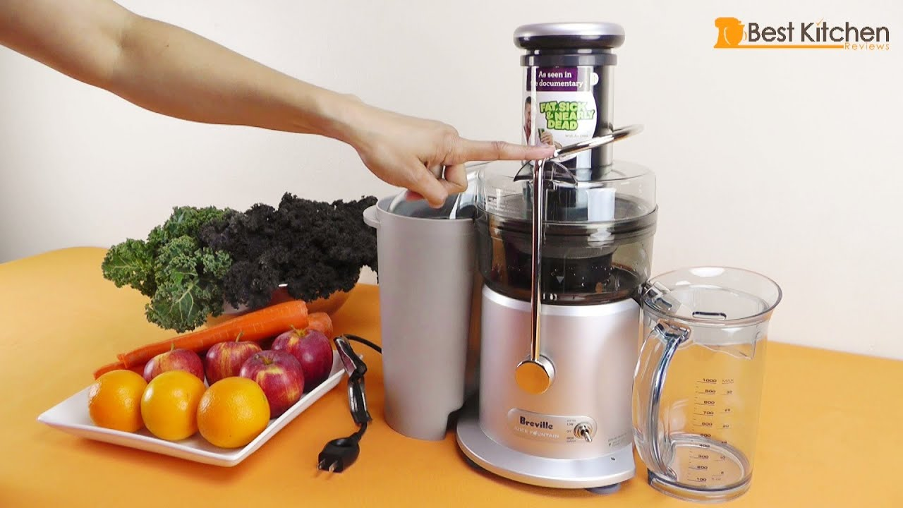 Breville JE98XL Juice Fountain Plus 850-Watt Juice Extractor Review