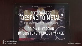 DESPACITO - Luis Fonsi ft. Daddy Yankee (iPad Drum Cover)