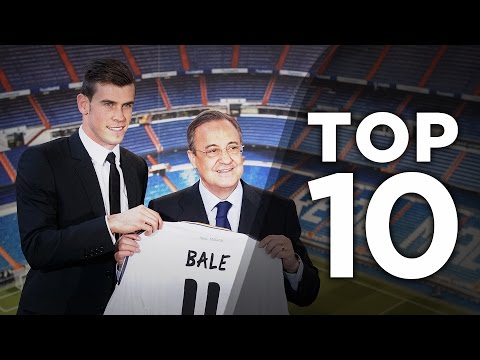 Top 10 Most Expensive Transfers In History