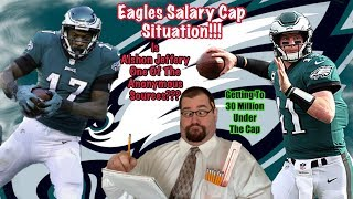 Eagles Can Fix The Salary Cap Quick And Reload...Here's How!! Alshon Jeffery Is Silent!!! SO WHAT!!!
