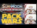 PACK WARS Pokemon Crimson Invasion Double Booster Box Opening mp3