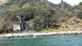 小大下島の廃墟