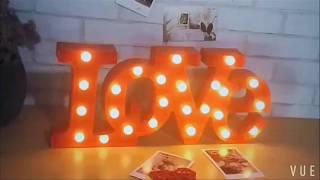 🌐 Đèn Led 3D trang trí chữ LOVE - WinWinShop88