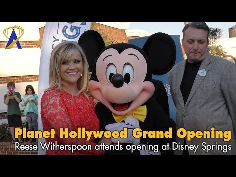 Planet Hollywood Observatory Grand Opening with Reese Witherspoon