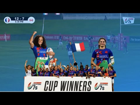 FRANCE 7s showcases top skills in Emirates Invitational 7s CUP FINAL | Rugby 7s Highlights