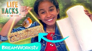 Paper Towel Bird Feeder Hack | LIFE HACKS FOR KIDS