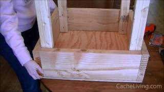 How To Make An Elevated Garden Box