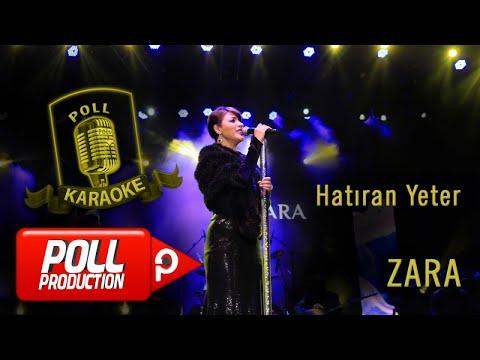 Zara - Hatıran Yeter - (Official Karaoke)