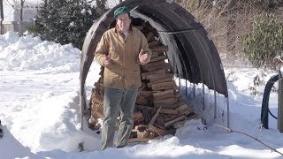 Firewood Shed Under $200 One Year Later