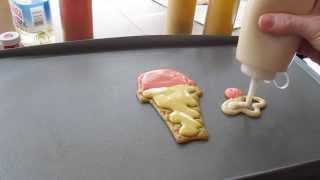 Tutorial: Ice Cream Pancake Art by Jenni Price