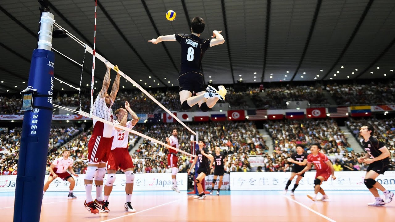 The Craziest Volleyball Spikes 4 to 4 | Best Volleyball  Skills | HD