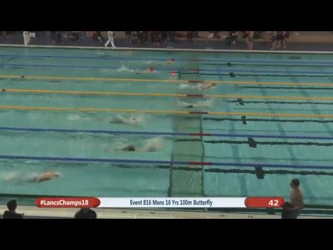 Lancashire County Swimming Championships 2018 Session 8