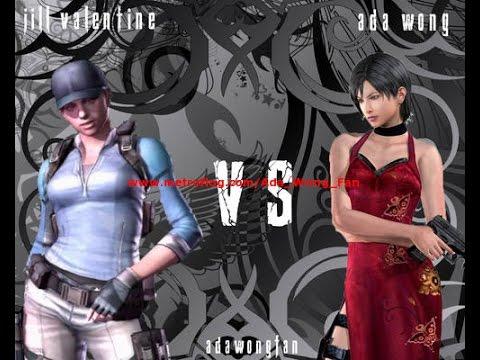 Resident Evil 5 Versus Team Survivors Village Ada Wong Vs Jill Valentine