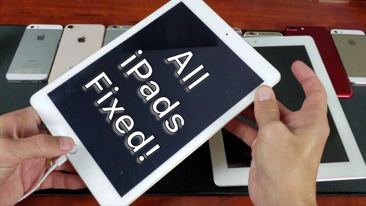 ALL iPads Fixed: Not Rebooting, Black Screen, Won't Turn On (2 Ways)