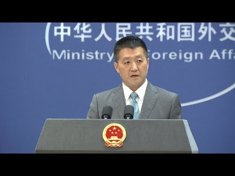 Dialog between China and India Can Be Held Only When India Withdraws Cross-border Troops
