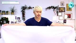 Практический урок №53. Костюм снегурочки. Раскрой основного материала и подкладки.