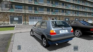 City Car Driving 1.5.0 VW Golf II 2 1.6 TD [Logitech G27]
