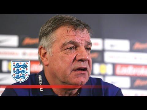 Allardyce on why Rashford's not included in squad v Slovakia | FATV News