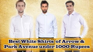 Formal shirts for men under 1000 Rupees of Top brand   White formal shirts online for mens