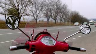 Из Италии в Молдову на мотороллере: невероятное путешествие Михаила Чекана