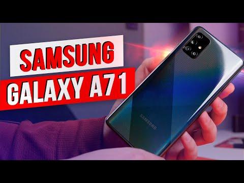 Samsung Galaxy A71 / Самый БОЛЬШОЙ середняк