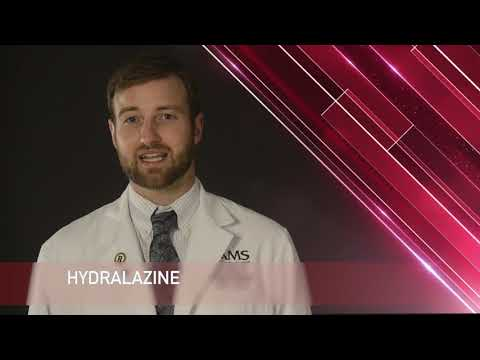 Hydralazine Medication Information (dosing, Side Effects, Patient Counseling.