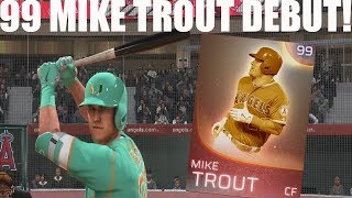 Immortal Mike Trout Debut! Endgame Team!!  | MLB The Show 18