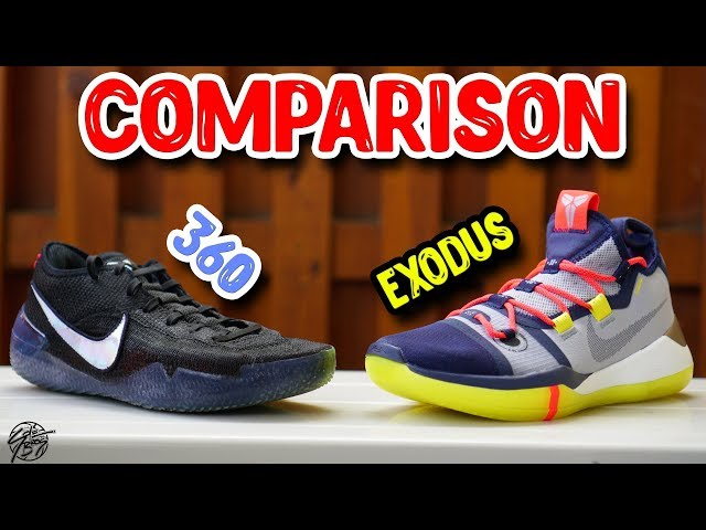 Nike Kobe AD NXT 360 & Kobe AD Exodus Comparison!
