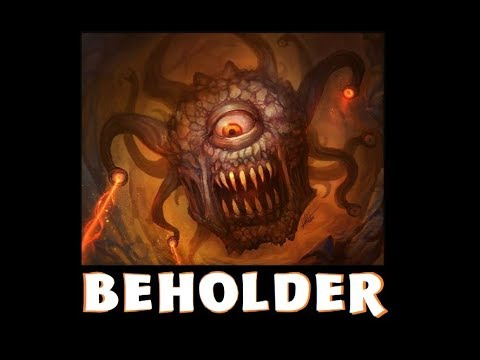 Dungeons and Dragons Lore: Beholder