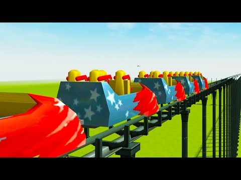 This Roller Coaster is Longer than Planet Earth - RollerCoaster Tycoon 3  
