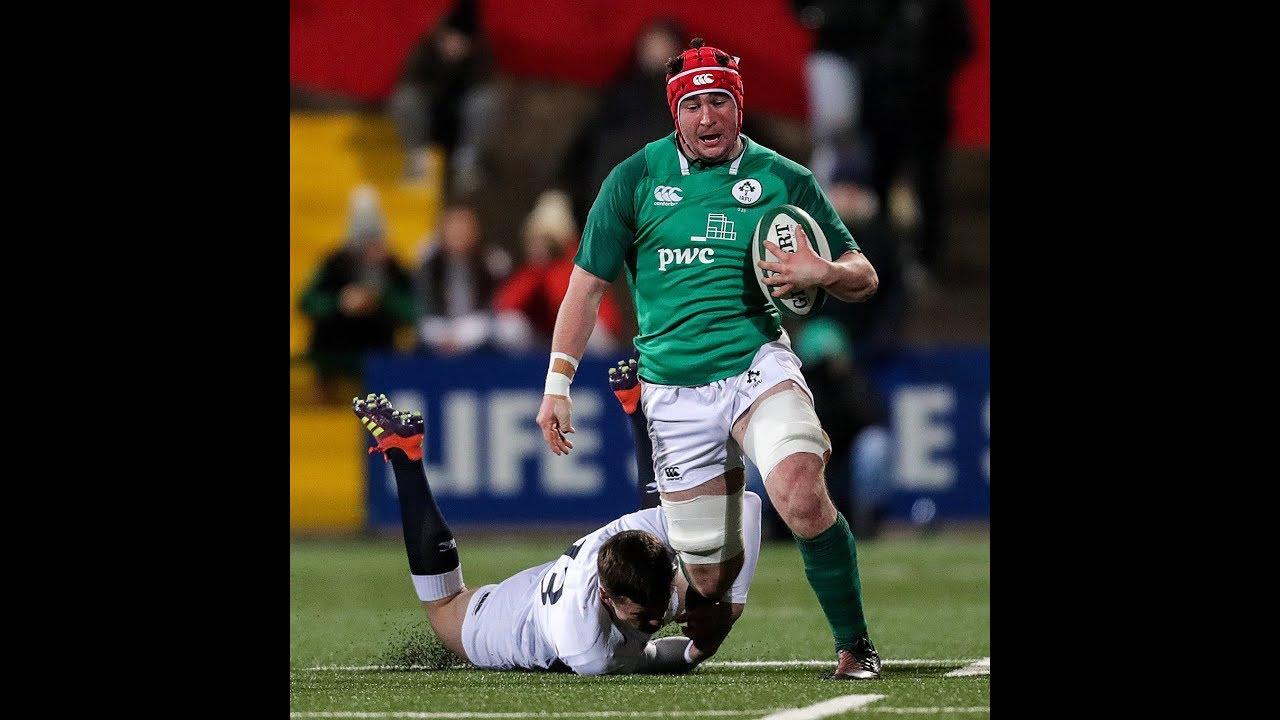 Irish Rugby Tv Ireland U20 V England U20 Highlights Youtube